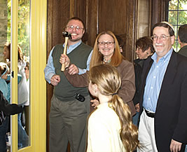 Dedication of the new vestibule